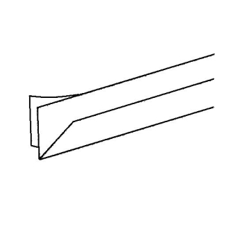 dichtungen onlineshop dichtung f r hebeschiebet r f r 1 8 mm spalt i r 022 3. Black Bedroom Furniture Sets. Home Design Ideas