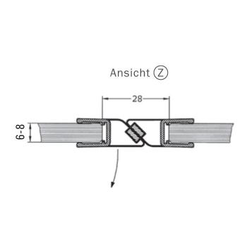 dichtungen onlineshop b rstendichtung 4 8 mm x 9 mm grau. Black Bedroom Furniture Sets. Home Design Ideas