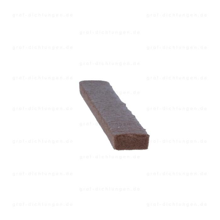 dichtungen onlineshop i profil 9 mm breit f r 1 4 mm spalt in braun 2032 r022 3. Black Bedroom Furniture Sets. Home Design Ideas